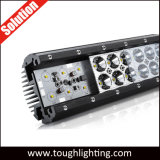 4 인치 크리 사람 반점 플러드 광속 이중 줄 Offroad 18W LED 일 표시등 막대