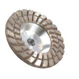 125mm 알루미늄 다이아몬드 화강암을%s 가는 컵 바퀴