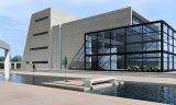 Edificio de oficinas prefabricado de varios pisos de la estructura de acero