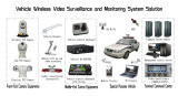 câmara de segurança de alta velocidade do IP do veículo HD de 20X 2.0MP IR