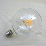 Ampola G80 G95 do filamento da tampa de vidro E27 Edison do bulbo do filamento do diodo emissor de luz das decorações G95 do Natal do vintage