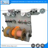 O eixo duplo de alta precisão de extrusão de fio máquina de produção de cabos