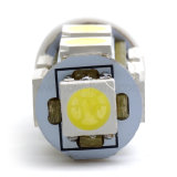 T10 lumière LED de voiture l'ampoule (T10-WG-009Z5050)
