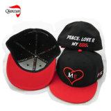 6つのパネルによって刺繍される帽子の帽子の野球帽