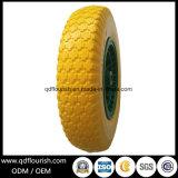 16 인치 손 트롤리를 위한 편평한 자유로운 PU 거품 바퀴 타이어