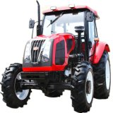 De hete Tractor van het Landbouwbedrijf van de Verkoop 90HP 4WD met Motor Yto en Cabine