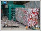 Loção de papelão de papel hidráulico semi-automática Hellobaler High Quality