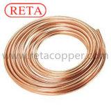 Tubo de cobre del rodillo del cobre de la refrigeración