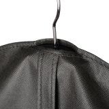 Nichtgewebte schwarze Klage-Kleid-Großhandelsbeutel (ST60WB)