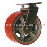 5 tonne de 12 pouces Super Heavy Duty de pivot de roue double Roulette industrielle
