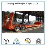 China 30t 2 Ejes Lowbed Lowboy semi remolque fabricante en China