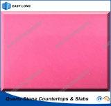 De kleurrijke Steen van het Kwarts voor Countertops/Tafelbladen met SGS Normen (Zuivere kleuren)