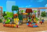 Малыши парка атракционов использовали пластичное напольное скольжение HD17-013A оборудования спортивной площадки