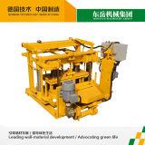 이동할 수 있는 벽돌 조형기 유압 이동할 수 있는 기계 Qt40-3A