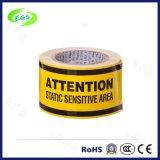 Nastro d'avvertimento di anti Refliective sicurezza gialla statica di ESD