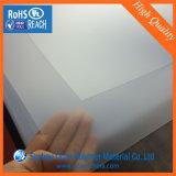 folha geada PVC rígida transparente desobstruída de 0.3mm Matt para a impressão do cartão