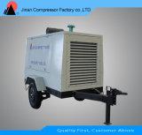 Compresor de aire rotatorio portable sin aceite del tornillo