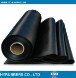 Feuille de caoutchouc d'insertion de tissu, rouleau de feuille de caoutchouc industriel couleur
