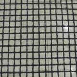 Tissu de nylon à mailles de couleur noir dentelle pour vêtement 0024