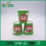 خضراء وحيدة جدار رسم متحرّك بقرة [فلإكسو] طباعة بيع بالجملة الصين شاي أو قهوة حارّ شراب [ببر كب]
