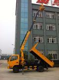 Camion di vendita caldo 10-20m della piattaforma del camion dell'asta di HOWO alto