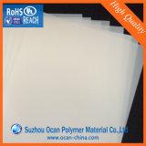 feuille transparente de PVC gravée en relief par 0.38mm pour l'impression offset