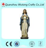 Decorazione materiale del giardino di Polyresin della statua della Mary della donna della gente di amore