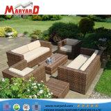 Résistance aux UV de mobilier de jardin en rotin 3PCS Selectional Canapé-Set