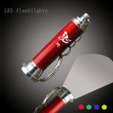 Mini tocha LED com chaveiro (QCL-004)