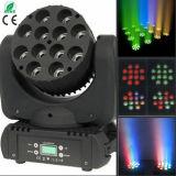 12*10W RGBW 4in1 LED 이동하는 맨 위 광속 빛