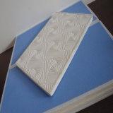 7mm qualifiés plafond recouvert de vinyle PVC Gypse (No. 254)
