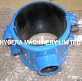 Tuyau en fonte ductile selle pour tuyaux en PVC