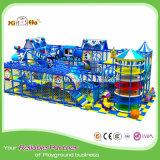 Neues Entwurfs-preiswertes Preis-Kind-Innenspielplatz-Geräten-weiches freches Schloss