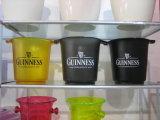 Personalizar os baldes de gelo de plástico