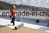 Membrane de PVC de support de tissu/matériau de toiture imperméables à l'eau