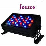54*3W RGBW LED Flut-Licht der Wand-Unterlegscheibe-Light/LED