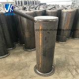 Impianti d'acciaio prefabbricati di saldatura fabbricati montaggio d'acciaio del tubo