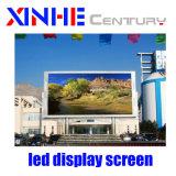 P3.91 Display LED de exterior do painel de parede de bicicleta a publicidade a Tela