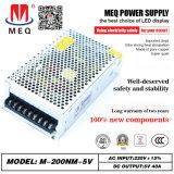 5V 40A Alimentation, mode commutation SMPS pour SMPS d'éclairage LED 200W (200W 5V)