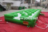 Almofada de salto inflável para jogos do jogo dos miúdos