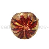 Emanações pesadas do ouro da tubulação de vidro da colher com coração pequeno (ES-HP-400)