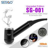 2017 tubos que fuman secos portables superventas de Seego Sg-001 del vaporizador de la hierba