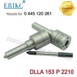 Erikc Dlla 153 P 2210のWeichaiのための自動燃料ポンプの注入のノズルBosch Dlla153p2210 (0 433 172 210の公有地の柵のノズル0433172210) 0 445 120 261