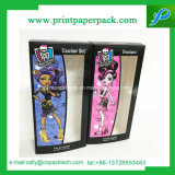 Твердая упаковка бумажной коробки лицевая Cream с печатание логоса