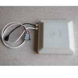 Antena integrada freqüência ultraelevada longa do leitor 8dBi da escala RFID do desempenho com relação RS232 e RS485