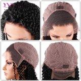 Venta rápida de encaje Brasileña de encaje Rizo rizado peluca pelucas para las mujeres negras