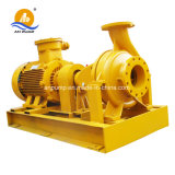 Pompe à eau centrifuge à coulisse arrière horizontale de servocommande