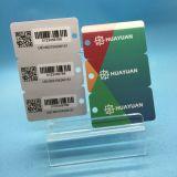 Pré-impresso 3 em 1 Tecla de fidelidade em PVC cartão Tag