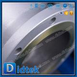 Válvula de globo del acero inoxidable CF3m del volante de dirección de Didtek