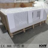 Dessus de salle de bains en pierre de résine de Kkr contre-
